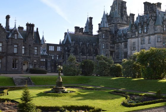 Fettes Headmasters Private Garden